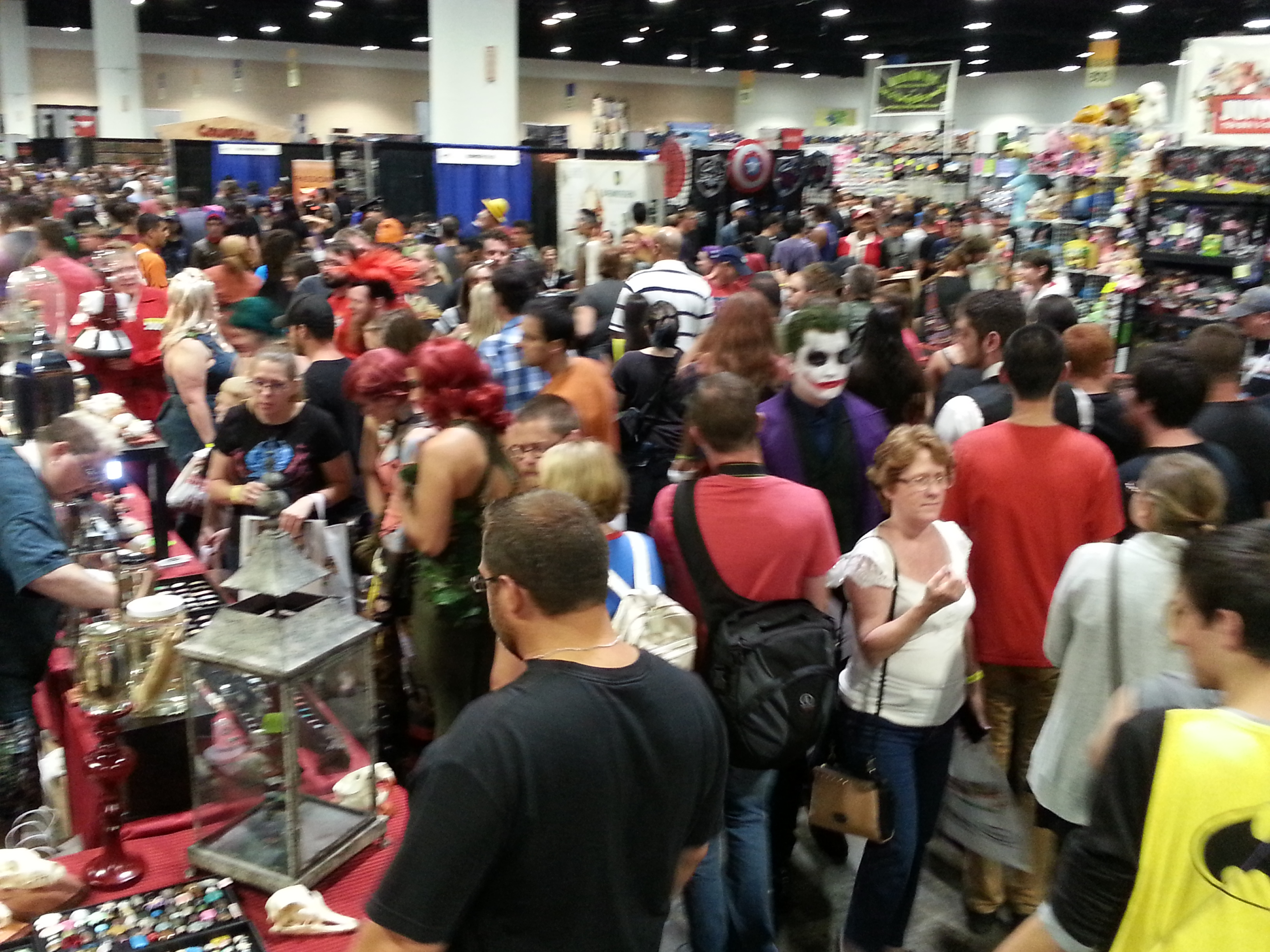 Tampa Bay Comic Con: Day 2 (At Last) – Adventures in Date Night