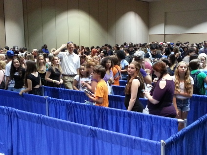 The official line for celebrity photo ops