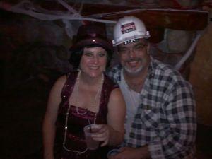 Mrs. R. & Mr. R. at Roxie's Pub, Clematis Street, West Palm Beach