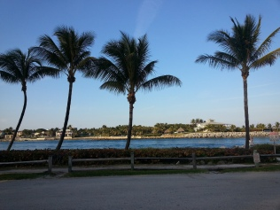 View of Jupiter Island across the Jupiter Inlet