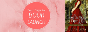 Four days to book launch