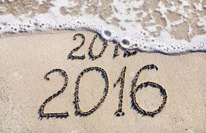 happy new year beach 2